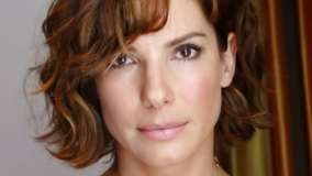 Sandra Bullock Pink Lips N Cute Eyes Face Closeup